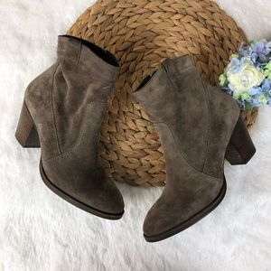 Paul Green Suede Jax Booties 8.5
